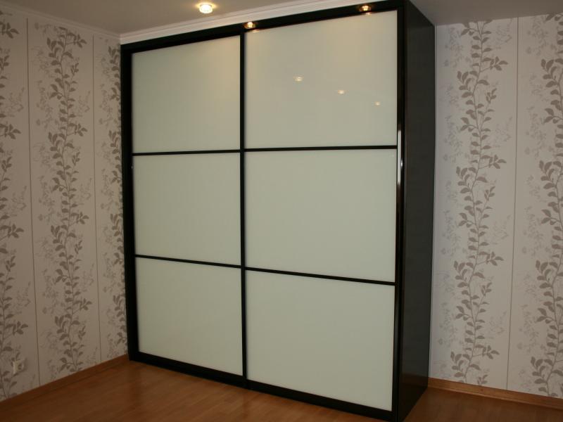 Встроенный шкаф-купе лакобель 9003 Нона