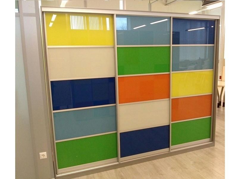Разноцветный шкаф-купе оракал Маис