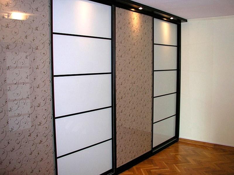 Зеркальный шкаф-купе 4-х дверный Сулим