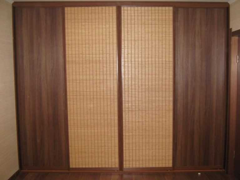Шкафы-купе бамбук