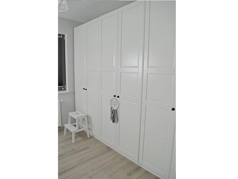 Белый классический шкаф №1125