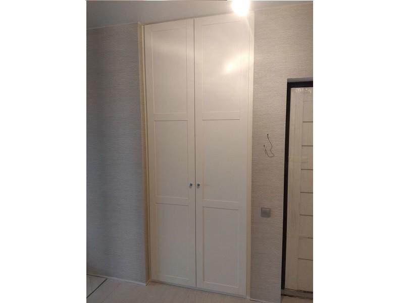 Встроенный распашной шкаф в нишу №1202