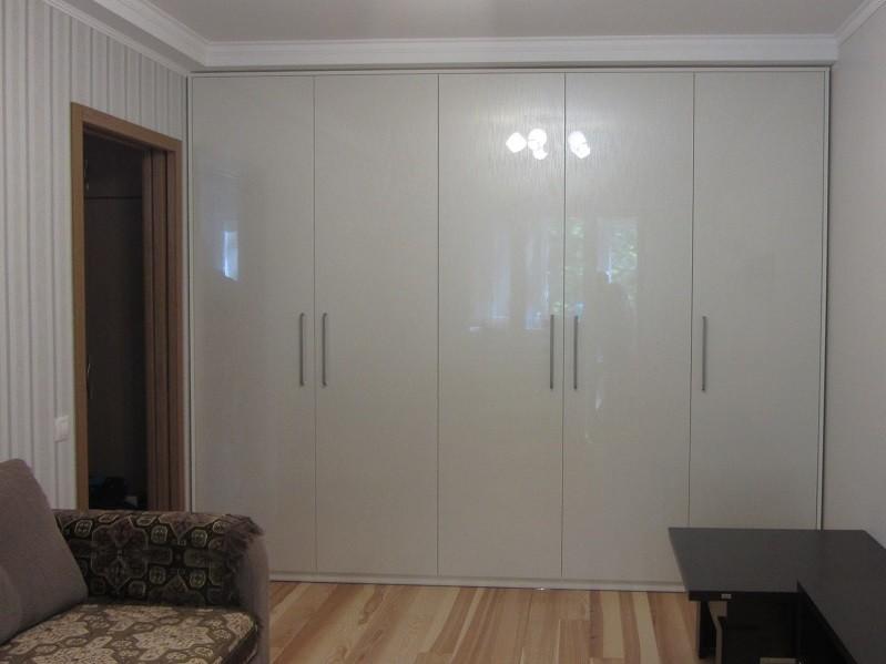 Встроенный распашной шкаф в зал №1228