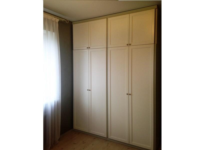 Встроенный распашной шкаф в нишу №1229