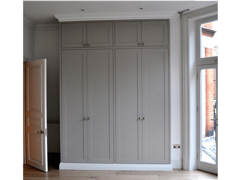 Встроенный распашной шкаф классика №1237