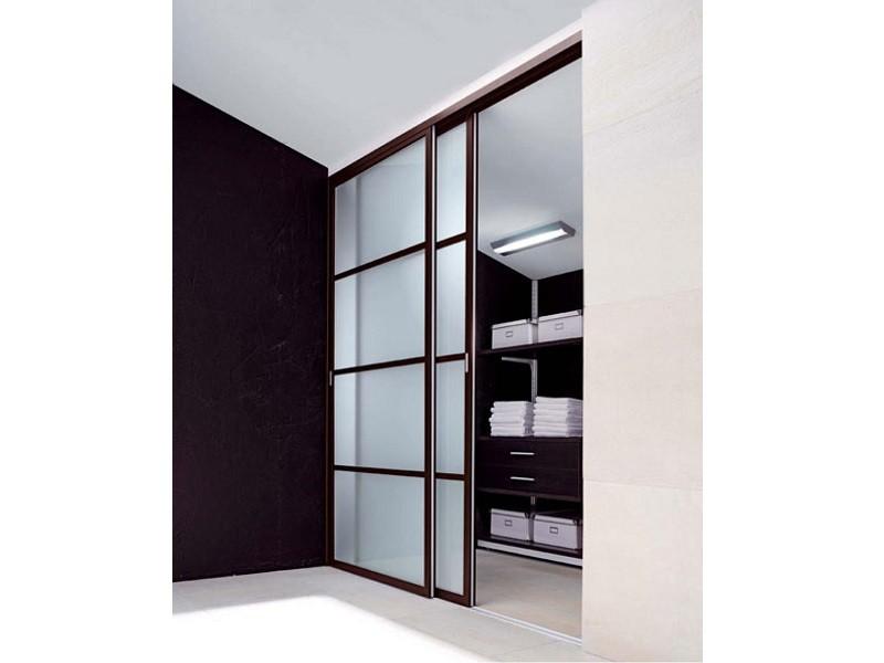 Подвесные двери-купе для гардеробной