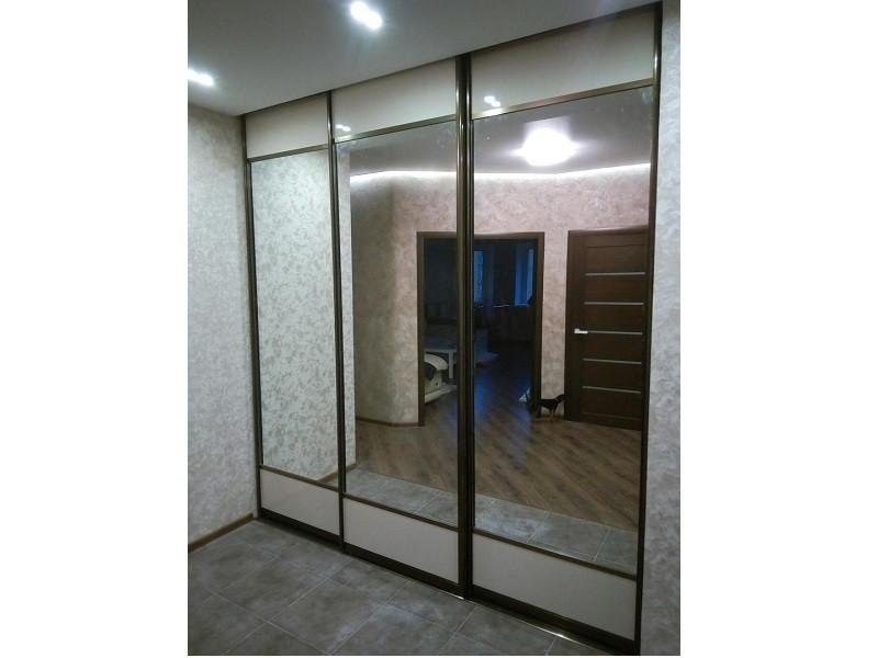 Двери для встроенного шкафа в гостиную
