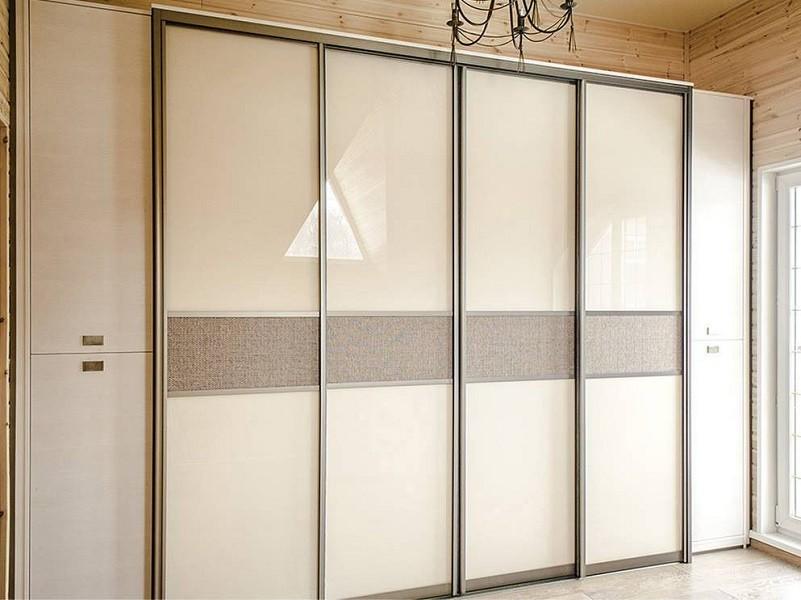 Двери для шкафа-купе из ротанга