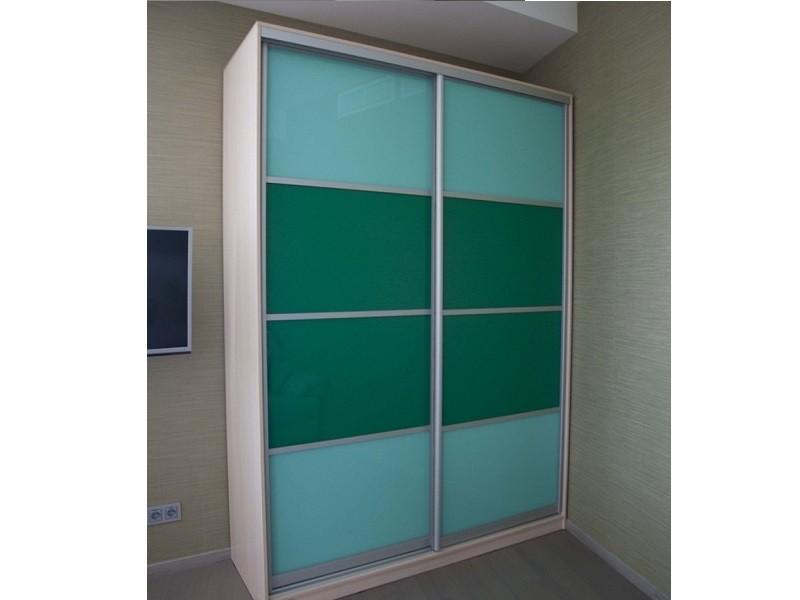 Встроенный шкаф-купе яркий 0368