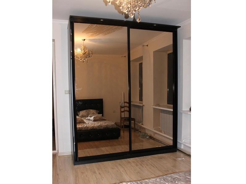 Двери-купе бронзовое зеркало