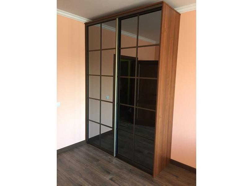 Двери-купе тонированное зеркало