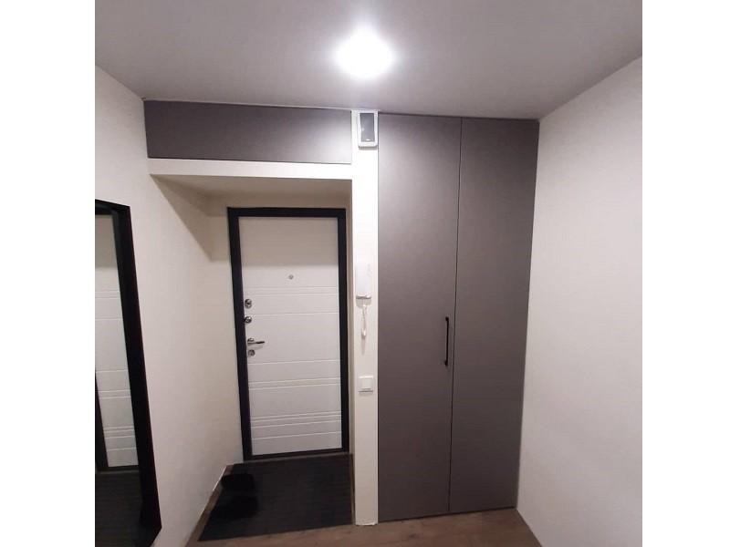 Шкаф с дверцами гармошкой №115 фото