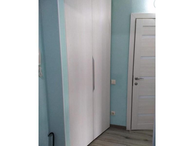 Угловой шкаф-гармошка в прихожую №134 фото