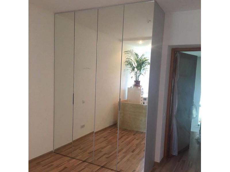 Зеркальный шкаф-гармошка №126