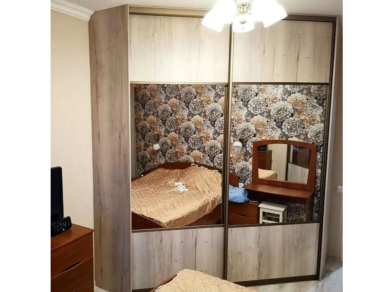 Угловой шкаф-купе гардеробная в спальню №450
