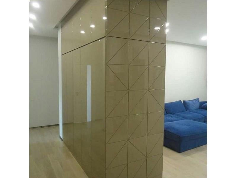 Шкаф 2-сторонний перегородка МДФ глянец №0478