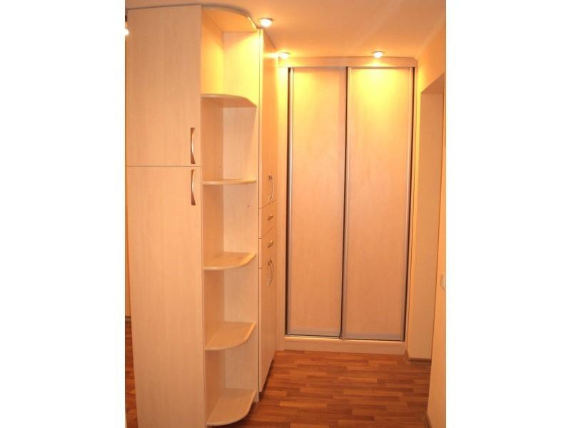 Угловой шкаф-перегородка №0480