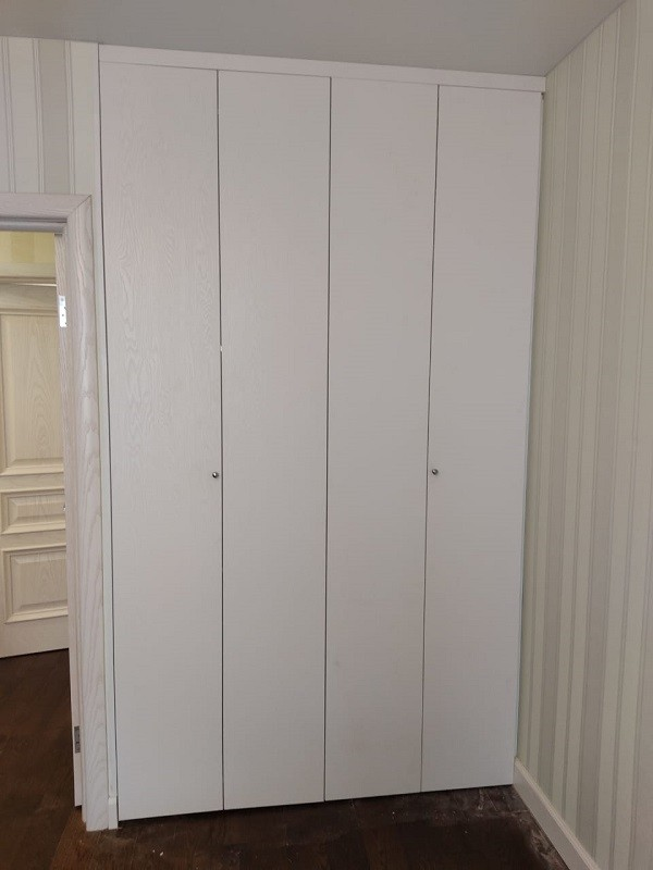 Складные двери hettich wing-line МДФ пленка