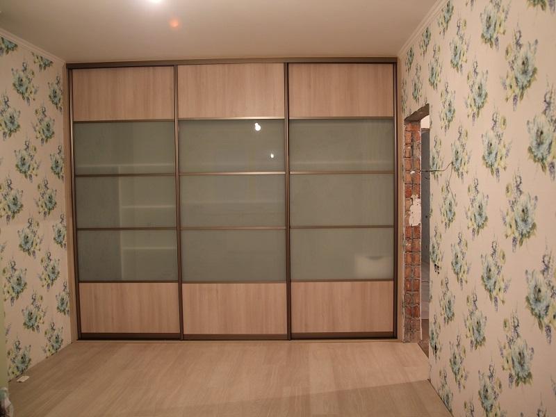 Двери-купе матовое стекло полупрозрачное